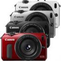 Deals List: Canon EOS-M Digital Camera w/ EF-M 22mm f/2 Lens (Black, Red, Silver, White)