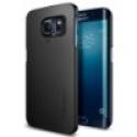 Deals List: Galaxy S6 Edge Case, Spigen® [Perfect-Fit] Galaxy S6 Edge Case Slim **NEW** [Thin Fit] [Smooth Black] Premium Matte Finish Hard Case for Galaxy S6 Edge (2015) - Smooth Black (SGP11408)