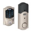 Deals List: Schlage Connect Camelot Touchscreen Deadbolt with Built-In Alarm, Satin Nickel, BE469NXCAM619