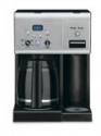 Deals List: Cuisinart CHW-12 Coffee Plus 12-Cup Programmable Coffeemaker with Hot Water System, Black/Stainless
