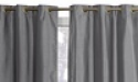 Deals List: Wexley Home 38x84-inch Foam-Backed Blackout Curtains
