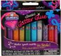 Deals List: Elmer's 3D Washable Glitter Pens, Classic Rainbow and Glitter Colors, Pack of 10 Pens (E199)