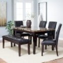 Deals List: Finley Home Palazzo 6 Piece Dining Set with Bench