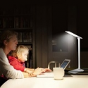 Deals List: TaoTronics Elune TT-DL08 Dimmable LED Desk Lamp (6W, Flexible Arm, 3-Level Dimmer, Touch-Sensitive Controller, Glossy White)