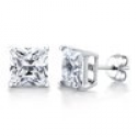 Deals List: 2ctw Simulated Diamond Sterling Silver Studs