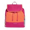 Deals List: Vera Bradley Canvas Backpack in Pink Swirls