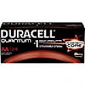 Deals List: 24/Pack Duracell Battery Quantum Alkaline AA