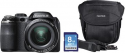 Deals List: Fujifilm - FinePix S4830 16.0-Megapixel Digital Camera Bundle - Black
