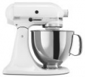 Deals List: Kitchenaid Stand Mixer tilt 5-Quart r-rk150wh All Metal Tilt Artisan white (Manufacture Refurbished)