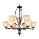 Deals List: Bel Air MDN928 12-Light Polished Chrome Crystal Boboches Chandelier