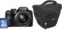 Deals List: Fujifilm - FinePix S9250 16.2-Megapixel Digital Camera Bundle - Black