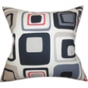 Deals List: Maaza Geometric Gray Feather Filled 18-inch Throw Pillow