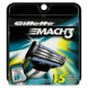 Deals List: Gillette Mach3 Base Cartridges 15 Count