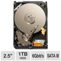 "Deals List: Seagate 1TB Solid State Hybrid Drive - 2.5"" Form Factor, SATA III 6 Gb/s, 5400 RPM, 64MB Cache - ST1000LM014"