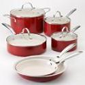 Deals List: Food Network 10-pc. Nonstick Ceramic Cookware Set + Free $20 Kohls Cash