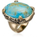 """Deals List: Barse """"Jubilee"""" Turquoise Oval Ring"""