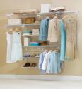 Deals List: Rubbermaid Configurations Custom Closet Organizer, Deluxe, 4 to 8 Foot, White (FG3H8900WHT)