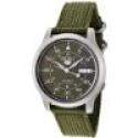 Deals List: Seiko Men's SNK805 Seiko 5 Automatic Green Canvas Strap Casual Watch