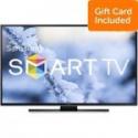 """Deals List: 55"""" Samsung UN55HU6950F 4K Smart WiFi LED HDTV + $400 GC"""