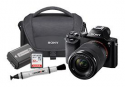 Deals List: Sony Alpha a7 Mirrorless Camera with Battery, Memory Card, Case and LensPen Cleaner