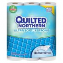 Deals List: 4X 12-ct Quilted Northern Ultra Plush Unscented Bathroom Tissue