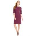Deals List: Striped Cropped-Sleeve Dress