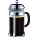 Deals List: Francois et Mimi Single Wall Borosilicate Glass French Coffee Press, 50-Ounce, Chrome