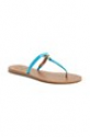 Deals List: Tory Burch 'T' Logo Leather Thong Sandal