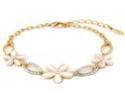 Deals List: Gold Plated Crystal Bracelets
