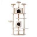 "Deals List: Cat Tree 80"" Condo Furniture Scratching Post Pet Cat Kitten House High Quality"