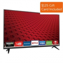 "Deals List: Vizio E-Series E55-C2 55"" 1080p Full-Array LED Smart HDTV (2015 model) + $125 GC"