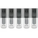 Deals List: Lexar 5-Pack of 8GB JumpDrive High Speed USB Flash Drives - Black (Bulk Packed)