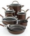 Deals List: Circulon Symmetry Chocolate 11 Piece Cookware Set + 3-pc bonus sets