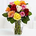 Deals List: 12 Rainbow Roses