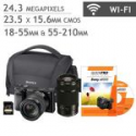 Deals List: Sony Aplha A6000 bundle with 18-55mm and 55-210mm Lens, 32GB SD Card and bag