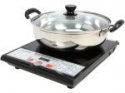 Deals List: Tayama Digital Black Induction Cooktop 1500 Watts SM-16A3 With Cooking Pot