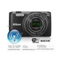 Deals List: Nikon COOLPIX S6800 16MP 1080P Wi-Fi Digital Camera with 12x Zoom (Factory Refurbished)