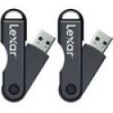 Deals List: Lexar JumpDrive TwistTurn 64GB High Speed USB Flash Drive (Black) 2-Pack (128GB Total)