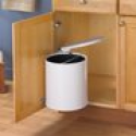 Deals List: Swing Out Trash Can Waste Bin 12L Automatic Touchless Lid Opens w/ Cabinet Door