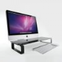 Deals List: Eutuxia Tempered Glass Monitor Riser and Desk Organizer (Black Glass)