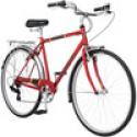 Deals List: 700c Schwinn Admiral Hybrid Men's Leisure Bike, Matte Red