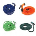 Deals List: Latex 25 50 75 100 FT Expanding Flexible Garden Water Hose with Spray Nozzle, 25ft