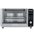 Deals List: Waring Pro - Convection Toaster/Pizza Oven - Black and Brushed Stainless Steel, TC0650