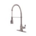 Deals List: Ultra UF12203 Single Handle Stainless Steel Kitchen Faucet with Pull-Down Spout