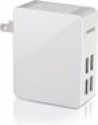 Deals List: Mpow® 25W/5A 4-Port Ultra Portable multiple USB Wall Charger Travel Power Adapter with X-Smart™ Technology [Folding Plug Designed]