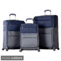 Deals List: Olympia Mediterranean 3-pc Expandable Spinner Lightweight Luggage Set