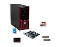 Deals List: AMD FX-4350 Vishera 4.2GHz Quad-Core CPU, MSI 760G MOBO, Klevv Neo 8GB MEM, SanDisk 128GB SSD, Seagate Barracuda 1TB HDD, LOGISYS Computer CS368RB Red Case w/ 480W PSU