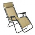 Deals List: 3 Zero Gravity Outdoor Tan Lounge Patio Chairs