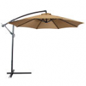 Deals List: Patio Umbrella Offset 10' Hanging Umbrella Outdoor Market Umbrella