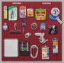 Deals List: Craftsman Red Heavy-Duty Locking Pegboard System